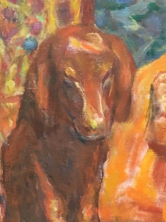 Pierre Bonnard, Esszimmer, Vernon, um 1925, Detail, Foto Petra Hartl