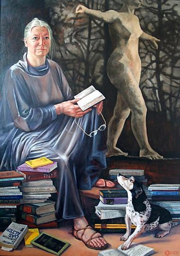 Karoline Koeppel, Die Malerin Ruth Iris Lohmann, 2000