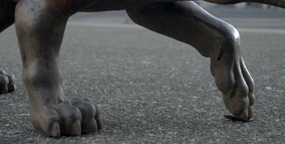 Die Wölfe kommen © Liu Ruowang, Foto Lorenzelli Arte
