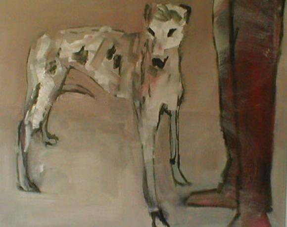 Dog and man, 2005 @ Nick Bodimeade