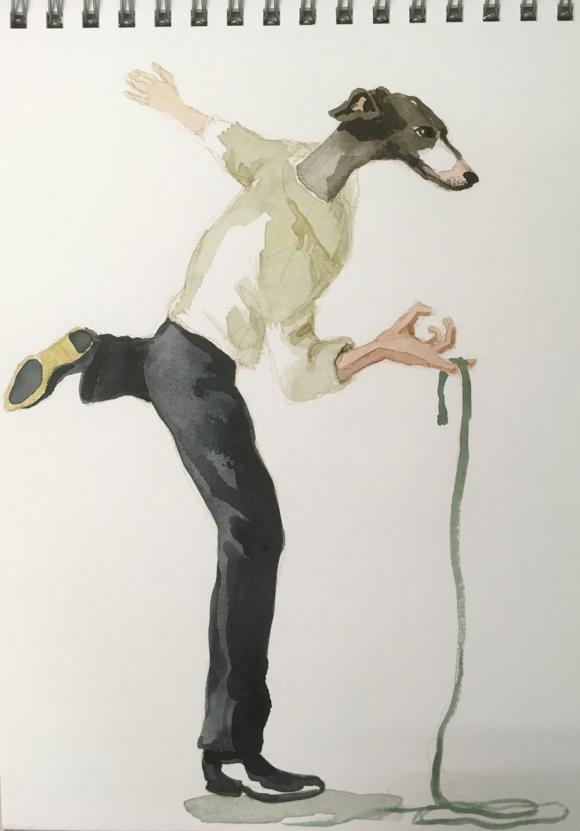 Dog Dancer, 2020 © Bärbel Rothhaar