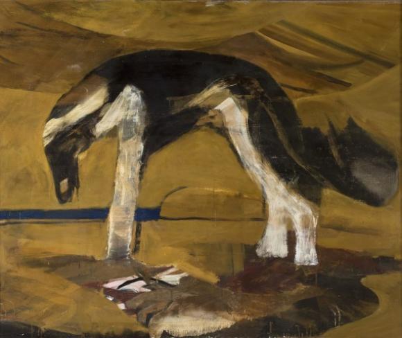Karl Weschke, Dog Dankoff, 1969 © Jonathan Clark & Co