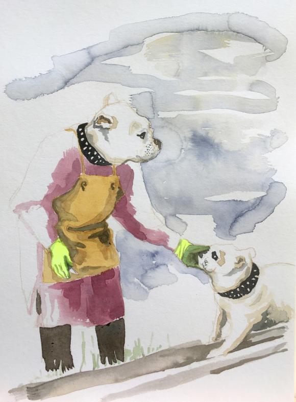 Dog Lady, 2020 © Bärbel Rothhaar
