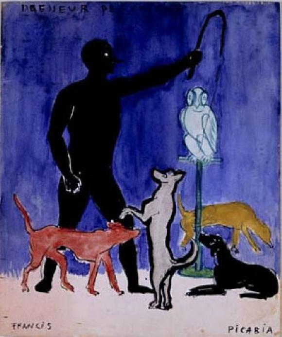 Francis Picabia, Dresseur de Chiens, ca 1923