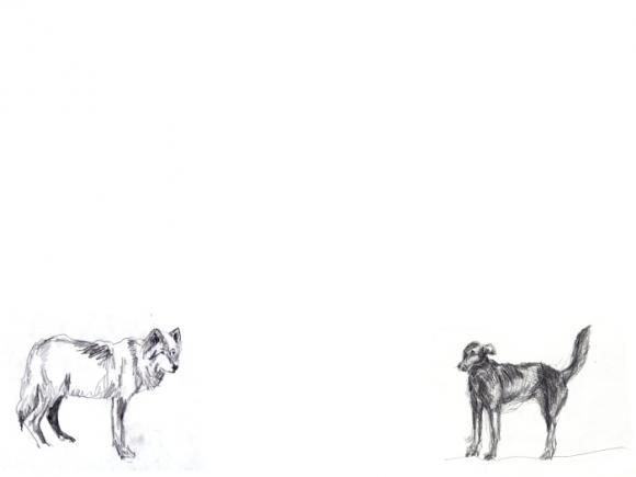 Encounter, Entwurfszeichnung © Colleen