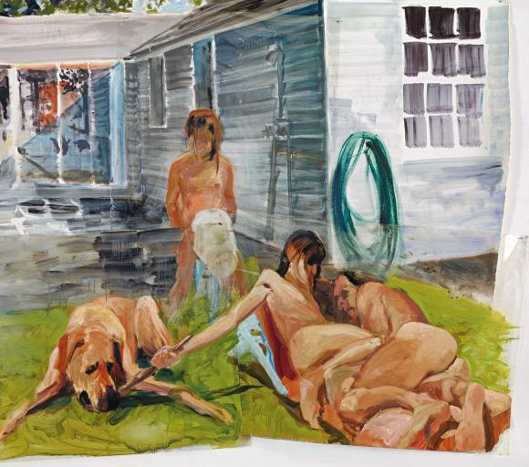 Eric Fischl, Untitled, 1985