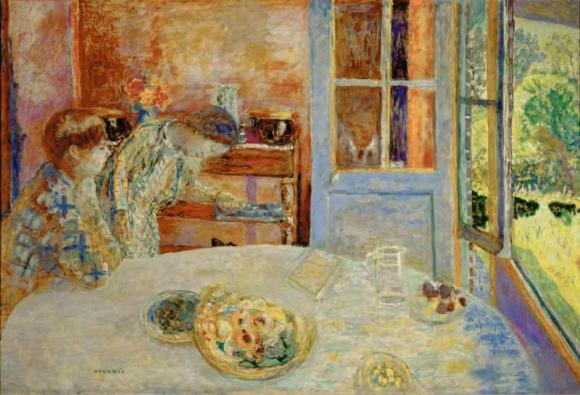 Pierre Bonnard, Esszimmer, Vernon, um 1925