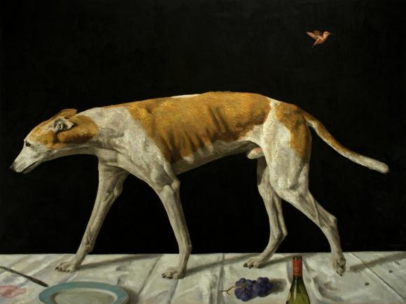 Fabian Jean, Dog and Hummingbird