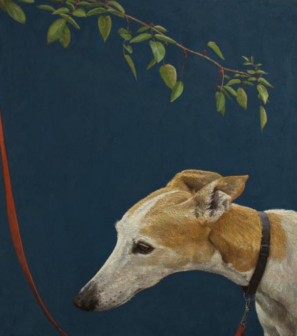 Fabian Jean, Dog on Leash