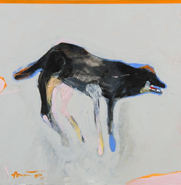 FB Dog 1, 2012 © Rick Bartow