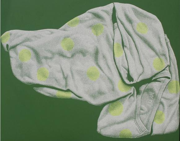 Flowing Lightness-Dalmatian, Polka-dot Clothes, 2007 © Jong Seok Yoon