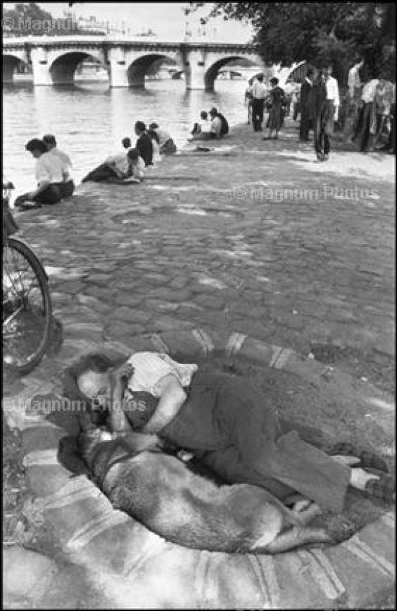 Henri Cartier-Bresson, Frankreich/Paris, 1956
