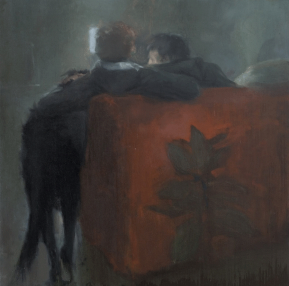 Friendship, 2008, oil on canvas, 100 x 100 cm © Simon Cantemir Hausì