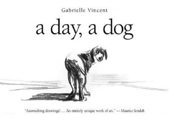Gabrielle Vincent, a day, a dog