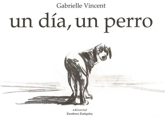 Gabrielle Vincent, un dia, un perro