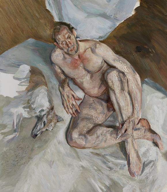 Portrait of the Hound, 2010/11 © The Lucian Freud Archive / The Bridgeman Art Li