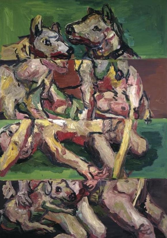 G. Antonin - Vier Streifen, 1966