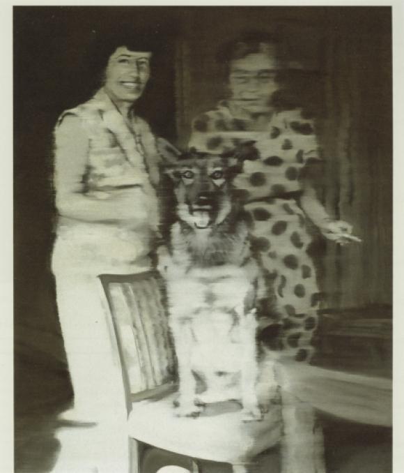 Gerhard Richter, Christa und Wolfi, 1964