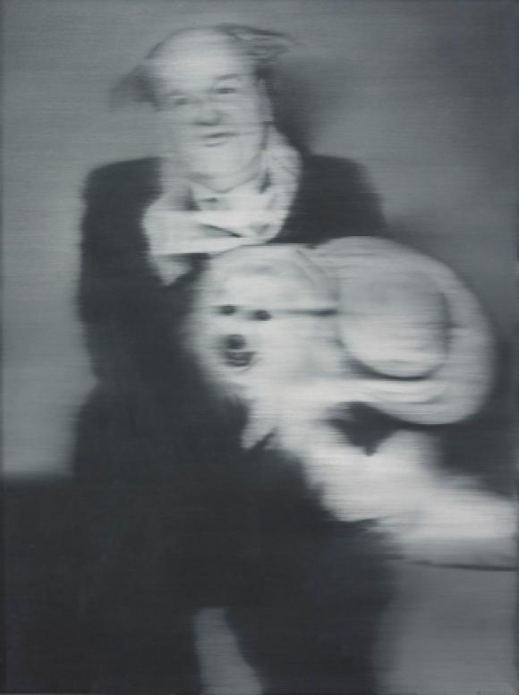 Gerhard Richter, Horst mit Hund, 1965