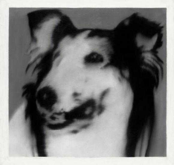 Gerhard Richter, Hundekopf (Lassie), 1965