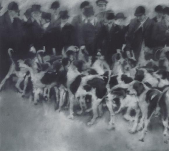 Gerhard Richter, Jagdgesellschaft, 1966
