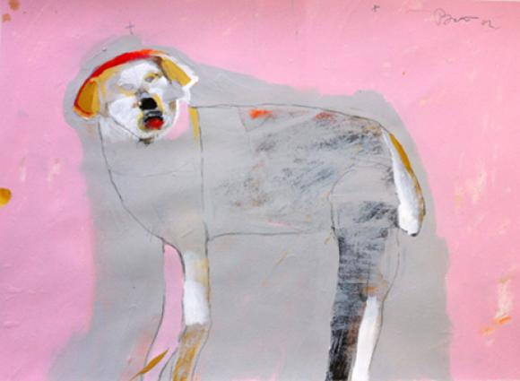 Ghost Dog, 2012 © Rick Bartow