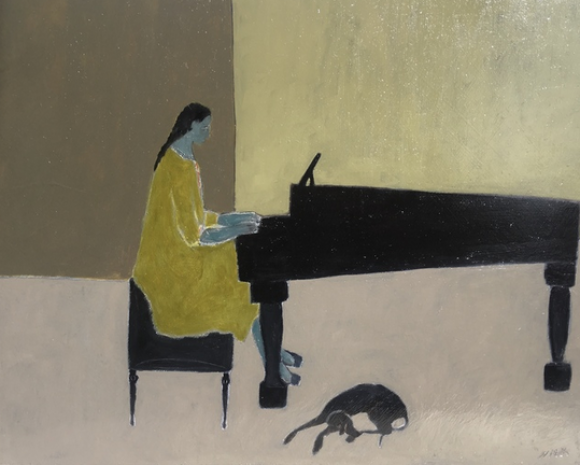 Girl at the Piano © Gigi Mills