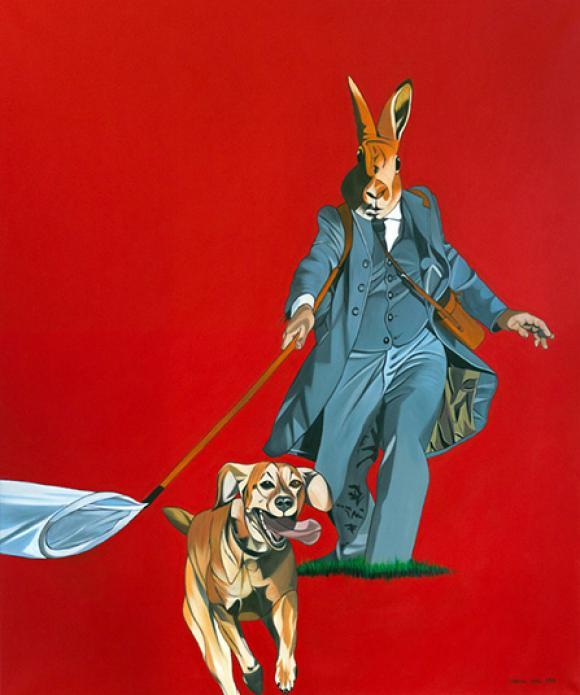 Hasenhundefänger, 2010 © Deborah Sengl