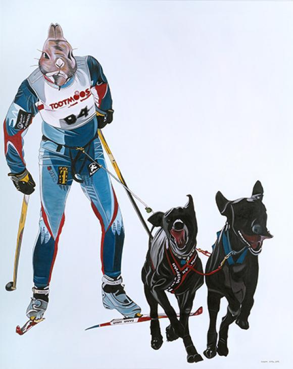 Hasenlangläufer, 2004 © Deborah Sengl