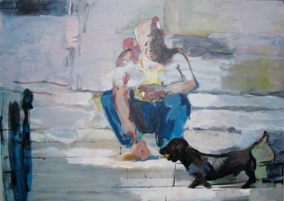 Heidi Mollwitz, Lump und sein Picasso, 2011