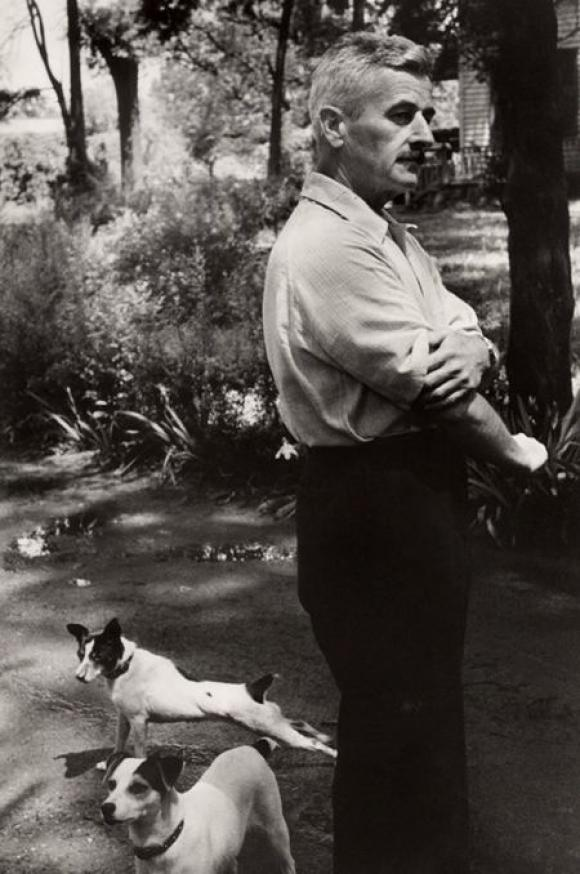 Henri Cartier-Bresson, William Faulkner, 1947
