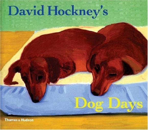 Buchcover von David Hockney's Dog Days