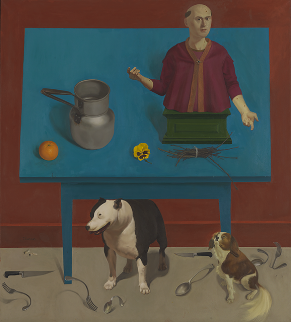 Two Dogs in a Still Life, 1997 © HonoréSharrer