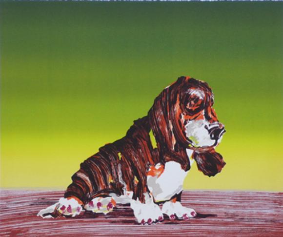 Hund 2003, Lithografie