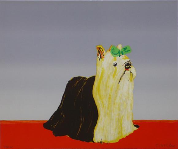 Hund, 2003, Lithografie