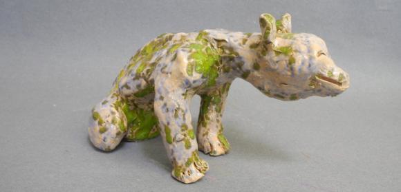 Hund, 2019 © Claudia Fuchs, Foto Hoffnungstaler Stiftung Lobetal