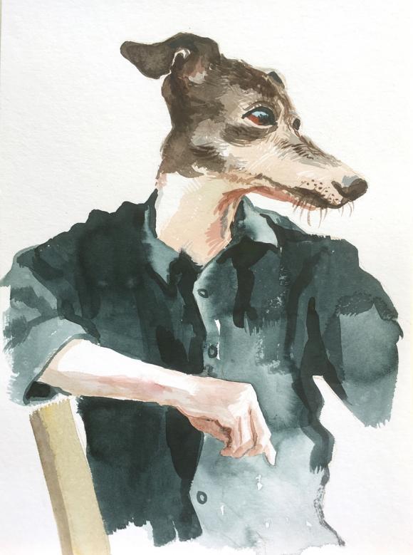 Hundemetamorphose, 2020 © Bärbel Rothhaar