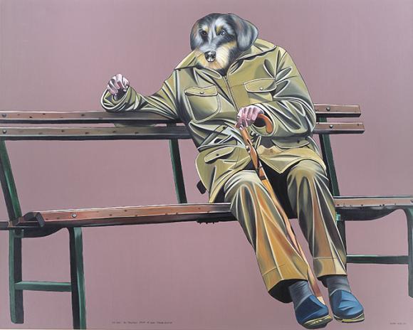 Hundepensionist, 2005 © Deborah Sengl