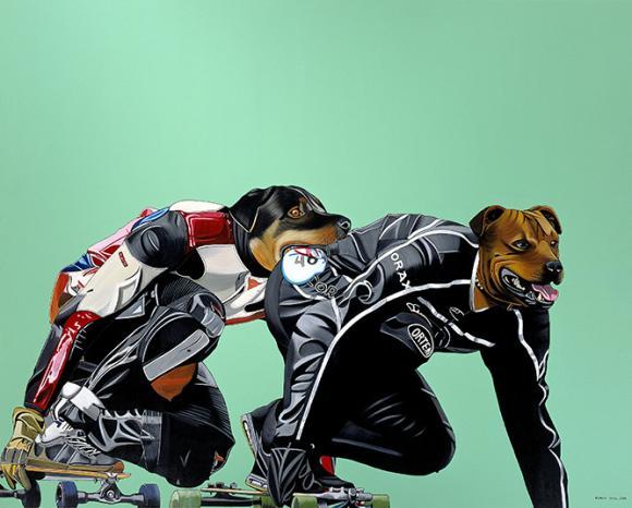 Hundeskater, 2004 © Deborah Sengl