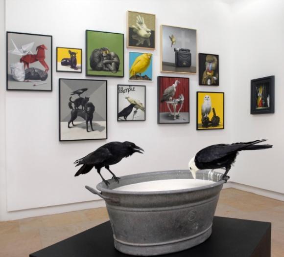 Ausstellungsansicht Kunstpalais