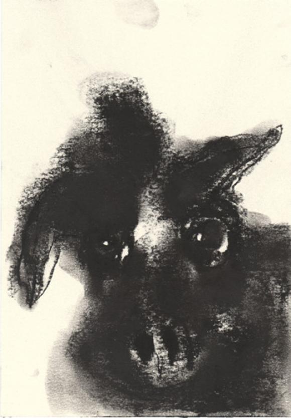 in den wolken seh ich immer hunde © Vera Kattler