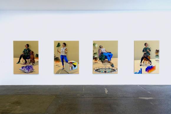 Ausstellungsansicht Galerie von Braunbehrens