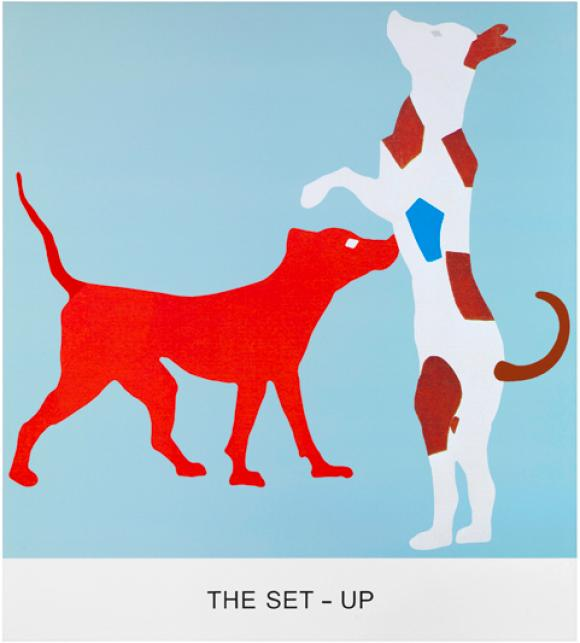 John Baldessari, The Set-up