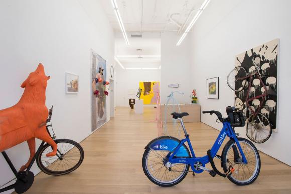 Installationsansicht Ausstellung Joyride 2014, Foto Bill Orcutt