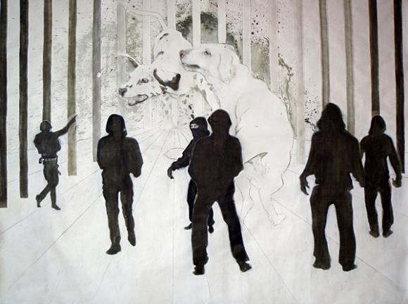 Käfig, 2012 © Tine Schumann