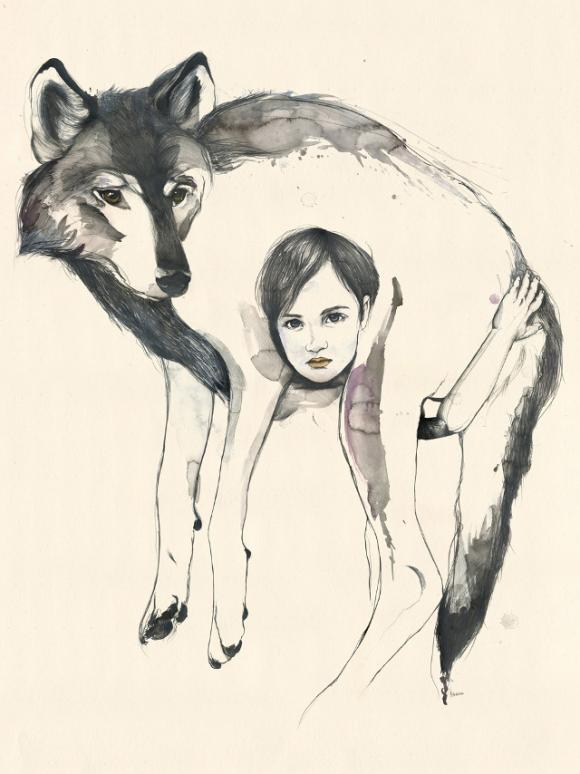 Wolf and Child © Kareena Zerefos