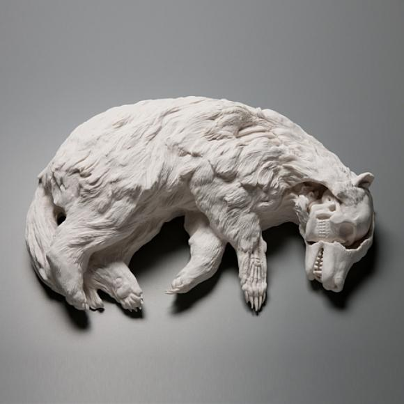 Badgered © Kate MacDowell, 2010