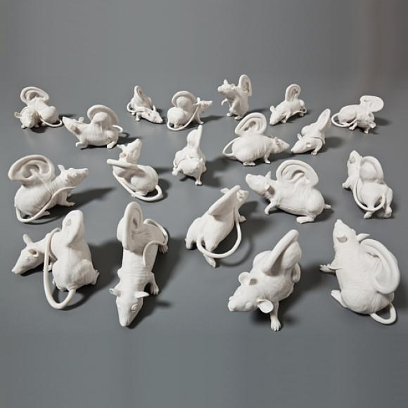 Quiet as a mouse © Kate MacDowell, 2009