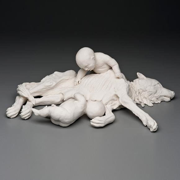 Romulus and Remus © Kate MacDowell, 2012