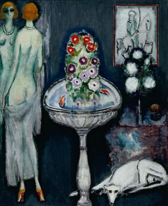 La vasque fleurie, um 1917 © Kees van Dongen
